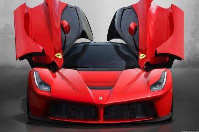 Ferrari La Ferrari F70 F150 HY-KERS System 963HP